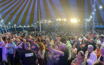 THE GREATEST TENT CRUSADE IN OUR HISTORY